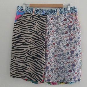 foul fashion Shorts - FOUL FASHION men multi print  shorts